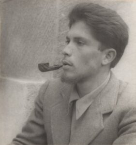 Poli Délano en su juventud